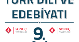 9.sınıf Sonuç Yayınları Türk Dili ve Edebiyatı Kitabı