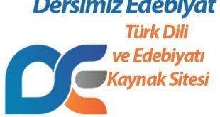 Türk Dili ve Edebiyatı Kaynak Sitesi