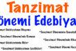Tanzimat Edebiyatı İlkler Eşleştirme Etkinliği